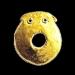Golden plate from Hotnitsa - 5th millennium BC