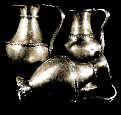 Silver Jugs from the Lukovit treasure